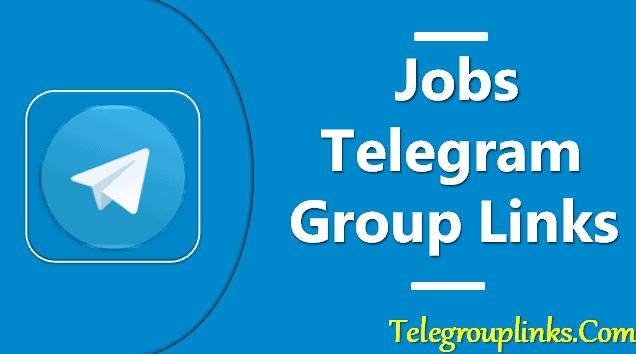Jobs Telegram Group Links