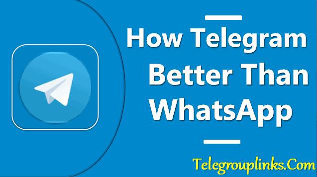 How Telegram Better Than WhatsApp