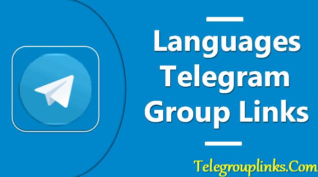 Languages Telegram Group Links