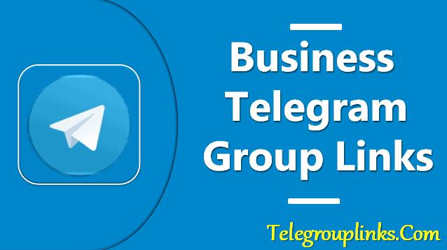 business telegram group links
