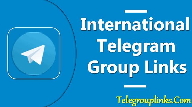 International Telegram Group Links