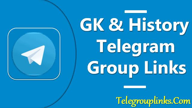 GK & History Telegram Group Links
