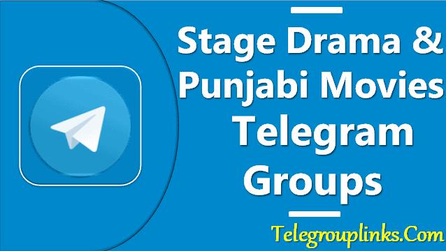 stage drama & punjabi movie telegram groups