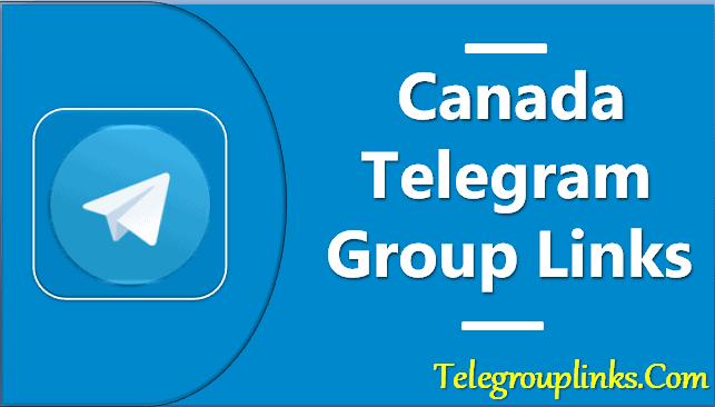 Canada Telegram Group Links