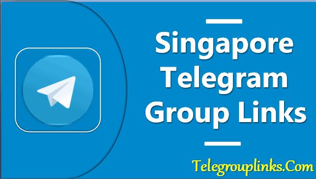 Singapore Telegram Group Links