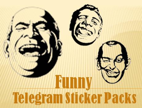 Funny Telegram Sticker Packs