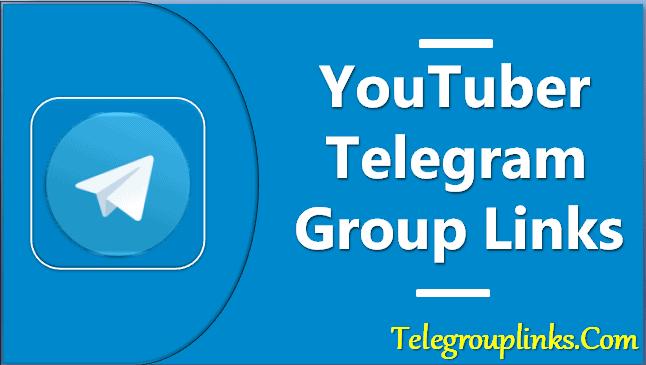 YouTuber Telegram Group Lins